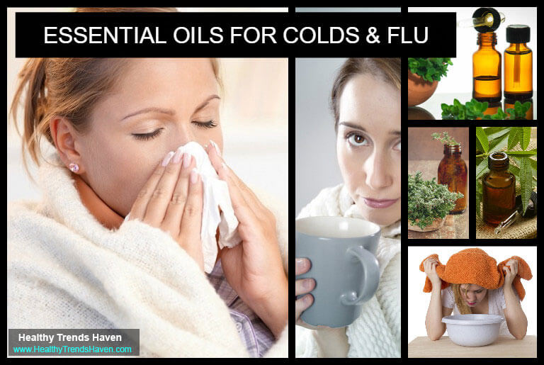 Essential Oils For Colds and Flu
